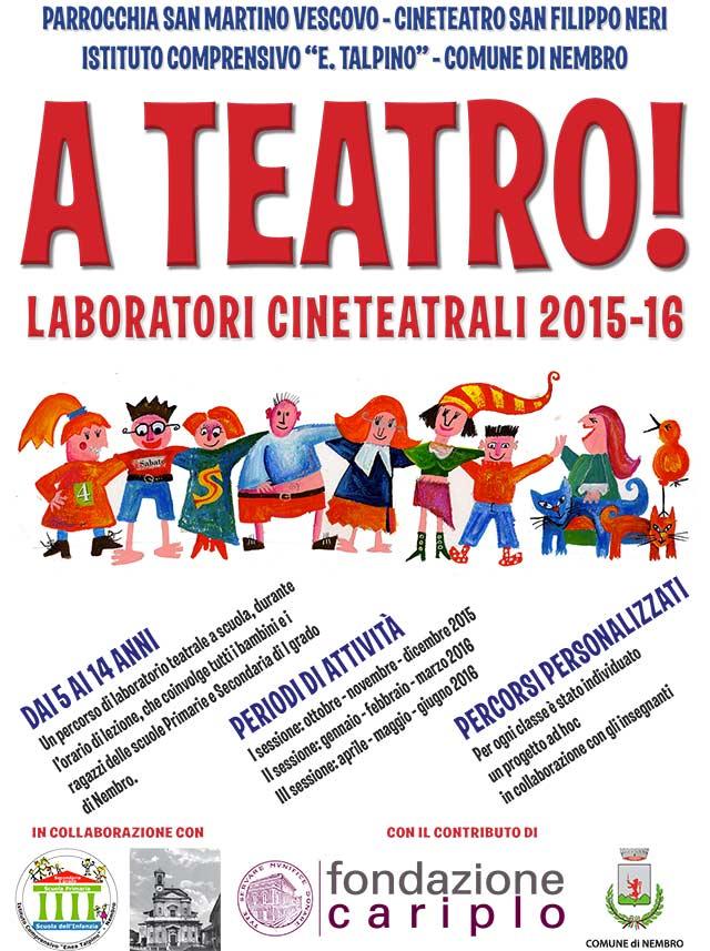 Recitazione Laboratorio Teatrale