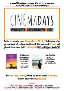 cinemadays-2019-locandina